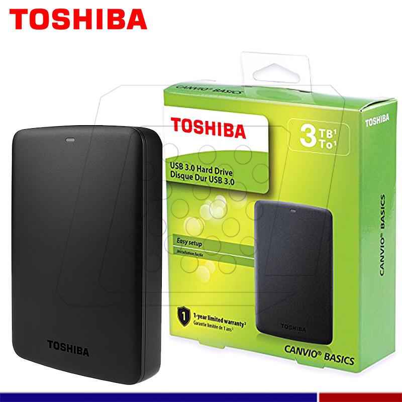 29baf00771335 DISCO EXTERNO TOSHIBA CANVIO BASIC 3TB - SERCOPLUS