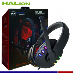 HEADSER GAMER USB HALION HA-H32 RGB