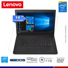 "NOTEBOOK LENOVO V330-14ISK INTEL CORE I3 6006U 4GB 1TB 14"" FREE DOS"