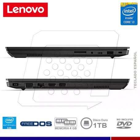 """NOTEBOOK LENOVO V330-14ISK INTEL CORE I3 6006U 4GB 1TB 14"""" FREE DOS"""