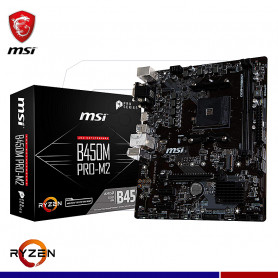 MAINBOARD MSI B450M PRO-M2 AM4 AMD