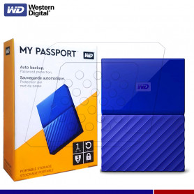 DISCO EXTERNO WESTERN DIGITAL MY PASSPORT 1TB