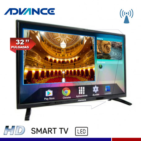 "TV SMART ADVANCE ADV32S00D 32"" LED HD"