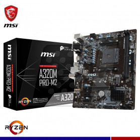 MAINBOARD MSI A320M PRO-M2 AM4 AMD DDR4
