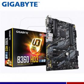 MAINBOARD GIGABYTE B360 HD3 DDR4