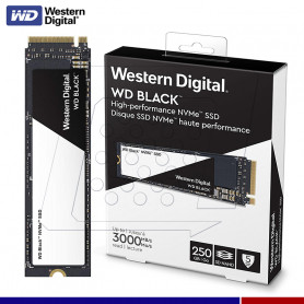 SSD WESTERN DIGITAL BLACK 250GB M.2 PCIe