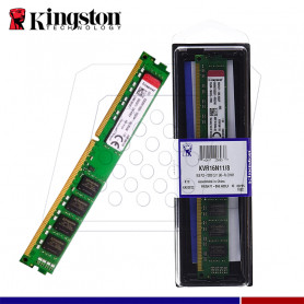 MEM. RAM KINGSTON VALUE 8GB DDR3 1600 MHZ