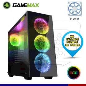 CASE GAMEMAX DRACO BLACK RGB