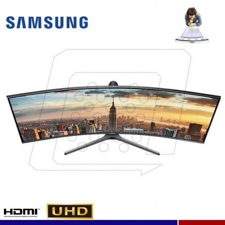 "MONITOR SAMSUNG GAMING LC43J890DKLXPE 43"" CURVO."
