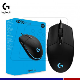 MOUSE OPTICO LOGITECH G203 RGB GAMING