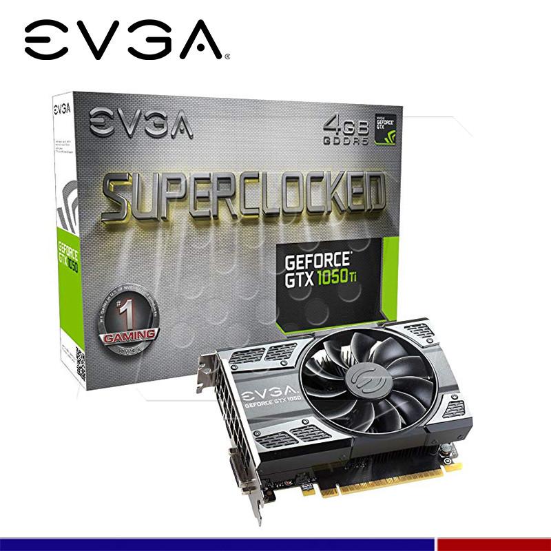VGA EVGA NVIDIA GTX 1050 TI SC GAMING 4GB