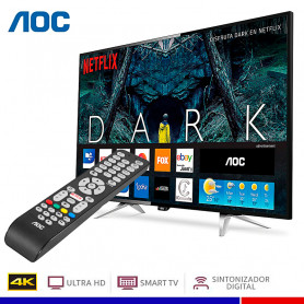 TELEVISOR AOC LED ULTRA HD 4K SMART 50""