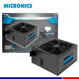 FUENTE DE PODER MICRONICS FANATIC 500W