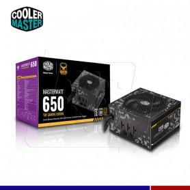 FUENTE COOLER MASTERWATT 650W 80 PLUS BRONZE