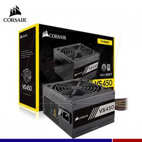 FUENTE DE PODER CORSAIR 450W 80 PLUS WHI