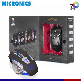 MOUSE GAMER MICRONICS WARRIOR MIC M813