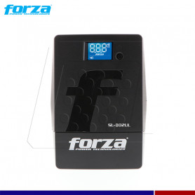 UPS 800VA MO. SL-802UL FORZA 480W/220V 6 TOMAS