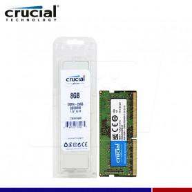 MEM. RAM SODIMM CRUCIAL 8GB DDR4 2666 MHZ