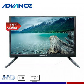 MONITOR TV ADVANCE ADV19N00D 19""