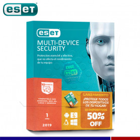 SOFTWARE ANTIVIRUS ESET NOD32 2019 MULTI DEVICE 10 DISPOSITIVOS