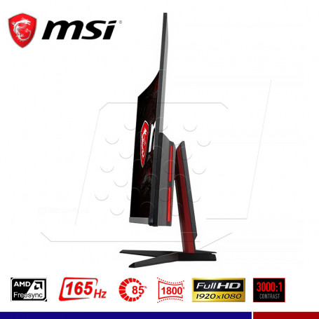 "MONITOR GAMING MSI OPTIX AG32C CURVO 32"" 1ms, 165Hz."