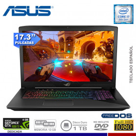 NOTEBOOK ASUS GL703GE-GC093 INTEL CORE I7 8750U