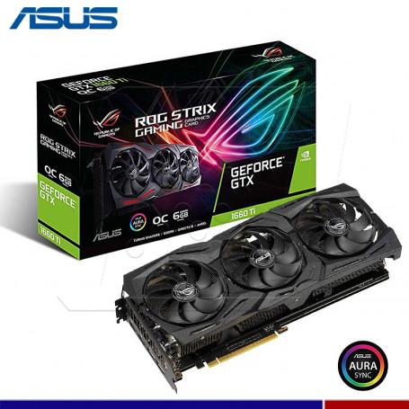 VGA ASUS NVIDIA ROG STRIX GTX1660TI O6G GAMING