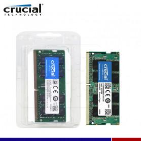 MEM. RAM SODIMM CRUCIAL 16GB DDR4 2666 MHZ