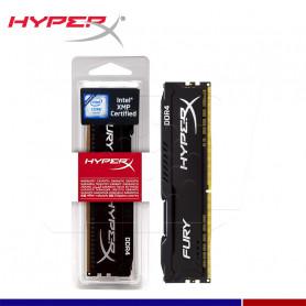 MEM. RAM HYPERX FURY BLACK 8GB DDR4 3200 MHZ