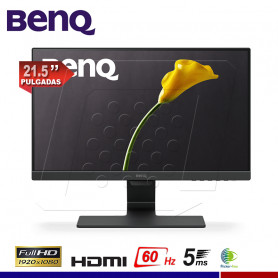 "MONITOR BENQ GW2280 21.5"" VGA HDMI"