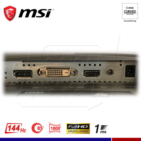 MONITOR GAMING CURVO MSI MAG2424C 24""