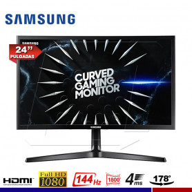"MONITOR GAMING SAMSUNG LC24RG50FQLXPE CURVO 24"", 4ms, 144Hz."