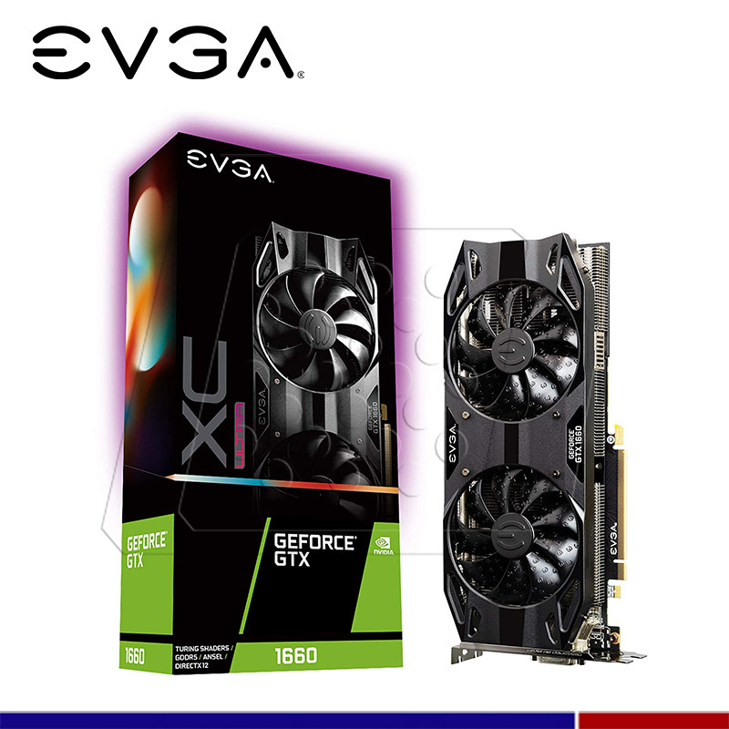 VGA EVGA NVIDIA GTX 1660 XC ULTRA GAMING 6GB