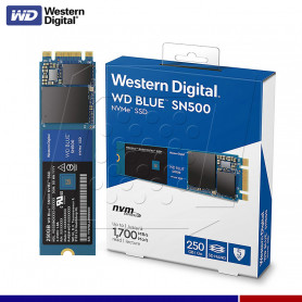 SSD WESTERN DIGITAL BLUE 250GB M.2 PCIe