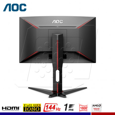 "MONITOR GAMING AOC C27G1 CURVO 27"" 144Hz, 1Ms."