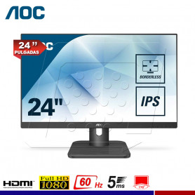 "MONITOR AOC 24E1Q 24"" IPS VGA/HDMI/DP"