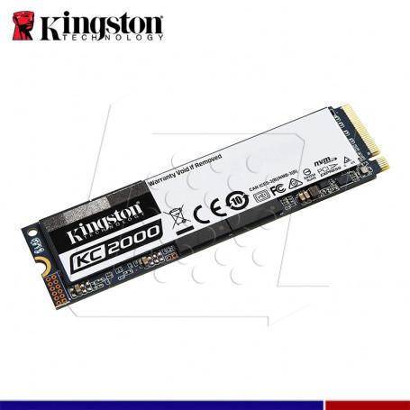 SSD KINGSTON KC2000 1TB M.2 PCIe