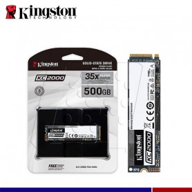 SSD KINGSTON KC2000 500GB M.2 PCIe