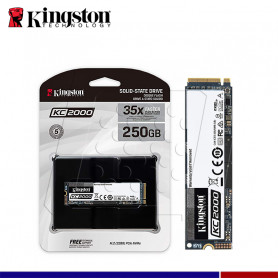SSD KINGSTON KC2000 250GB M.2 PCIe