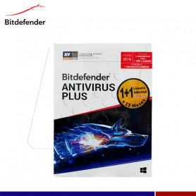 ANTIVIRUS PLUS BITDEFENDER 2019 2PC + 1 ANDROID