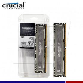 MEM. RAM 8GB CRUCIAL BALLISTIX LT GRAY 8