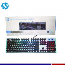 TECLADO MECANICO HP GAMING GK600 RGB