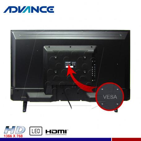"TELEVISOR ADVANCE ADV-39LED 39"" LED"