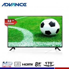 "TELEVISOR ADVANCE ADV32N00D, 32"" LED HD"