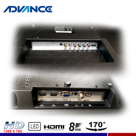 "TELEVISOR ADVANCE ADV32N00D, 32"" LED HD"