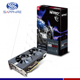 VGA SAPPHIRE AMD RADEON RX 580 NITRO+ 4G