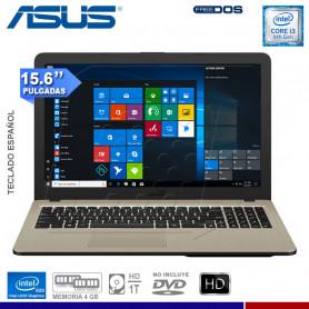 "LAPTOP ASUS VIVOBOOK X540UA-GO1111, I3-8130U, ITB, 4GB DDR4, 15.6"" LED, FREE"