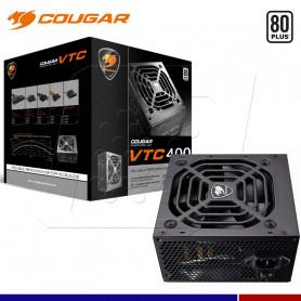 FUENTE COUGAR VTC400 400W 80 PLUS WHITE