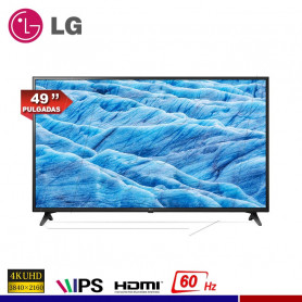 "TELEVISOR LG 49"" ULTRA HD SMART TV 4K"