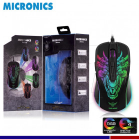 MOUSE GAMING MICRONICS INFERNO MIC M816 RGB